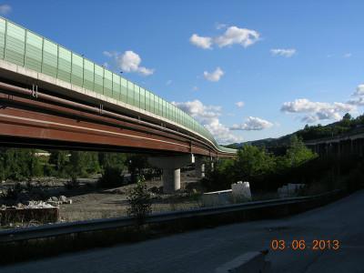 Autostrada A/1 Milano - Napoli Attraversamento Appenninico tra sasso Marconi e Barberino del Mugello