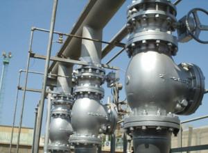 Manutenzione della raffineria di petrolio a Azzawiya
