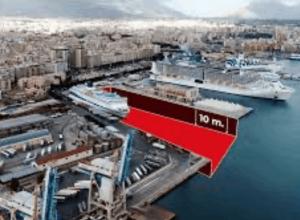 Opere speciali per la derivazione ed il convogliamento definitivo delle acque sboccanti all'Acquasanta entro il porto industriale di Palermo