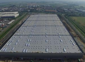 Realizzazione di nuovo insediamento logistico (edificio D) presso l'area denominata