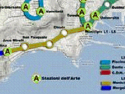 LINEA 6 DELLA METROPOLITANA DI NAPOLI : TRATTA FUNZIONALE MERGELLINA - MUNICIPIO