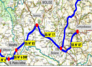 Collegamento autostradale S. Vittore/Campobasso – Molisana