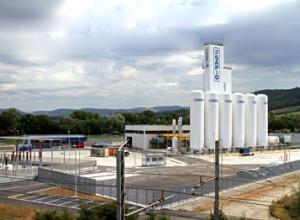 Impianto frazionamento aria presso il cantiere Sapio produzione idrogeno ossigeno s.r.l.