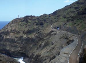 Realizzazione della strada Janela - Porto Novo nell'isola Santo Antao