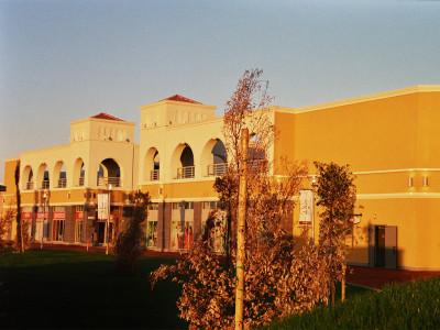 Costruzione del retail Park Market da Vinci