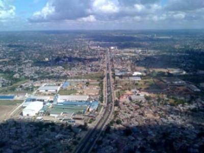 Riabilitazione della strada Mandela a Dar Es Salaam (Tanzania)