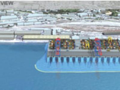 Progettazione e costruzione del Zagabria Pier Terminal Container - 1° Fase - Rijeka (Croazia)